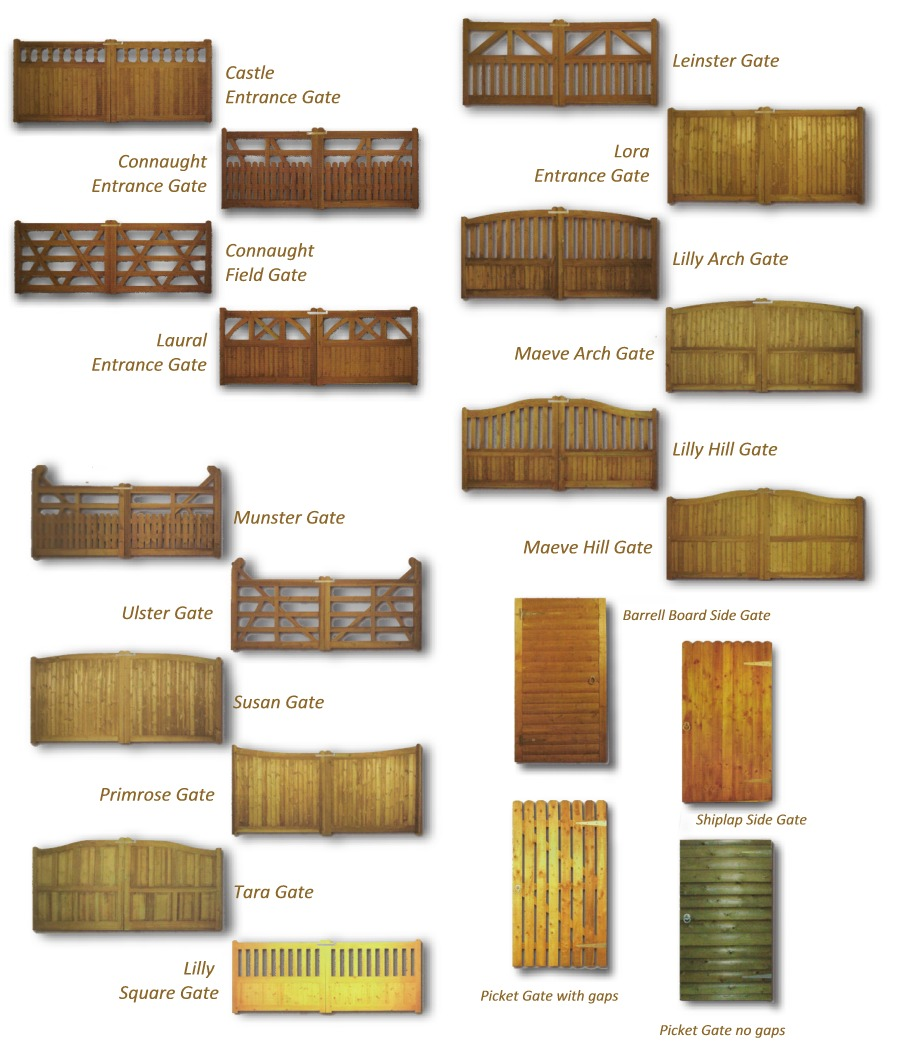 Timber gates, Waterford  Fences, timber post & rail fencing, gate