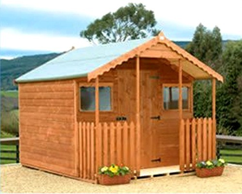 Garden Sheds Very lodge is a very attractive shed which is versatile for use as a